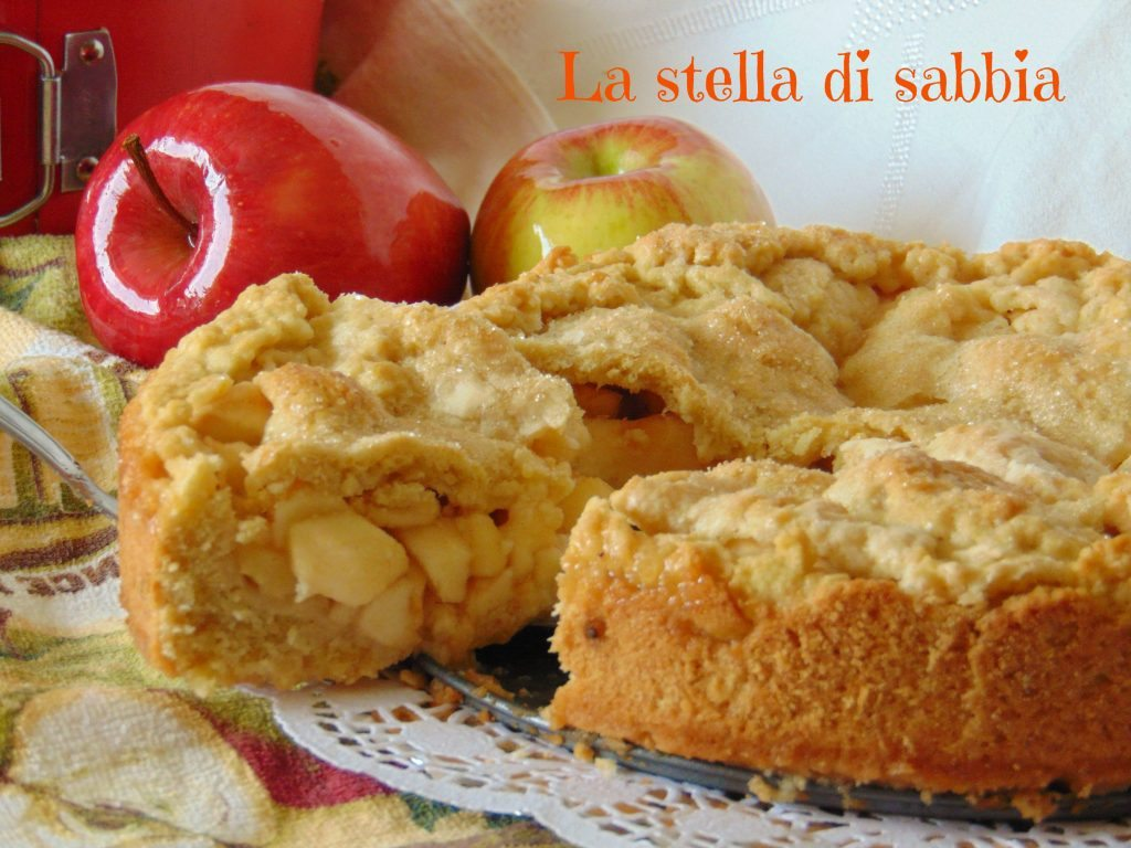 Crostata alle mele di nonna papera