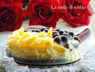 torta fredda con ananas